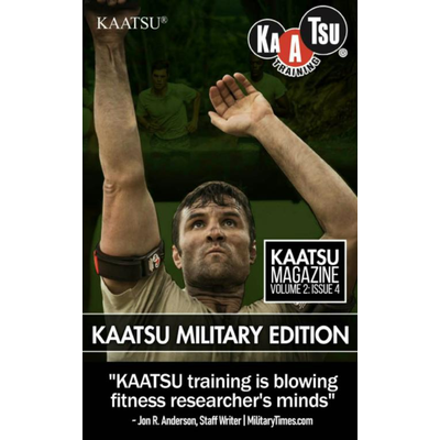KAATSU Paperback 01 KAATSU Training - Military Edition